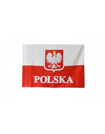 Flaga POLSKA  duża 110 x80...