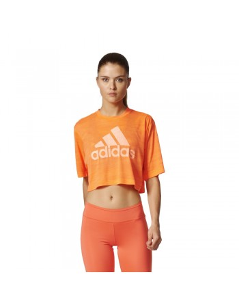 Koszulka adidas Boxy Crop...
