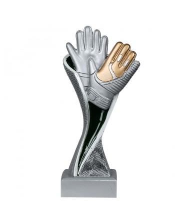 Statuetka bramkarz-rękawice...