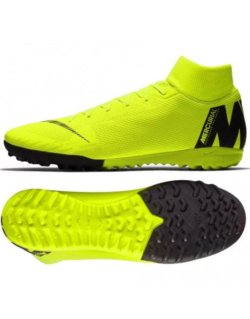 Buty Nike Mercurial SuperflyX 6 Academy TF AH7370 701 Rozmiar EUR 40 Kolor żółty
