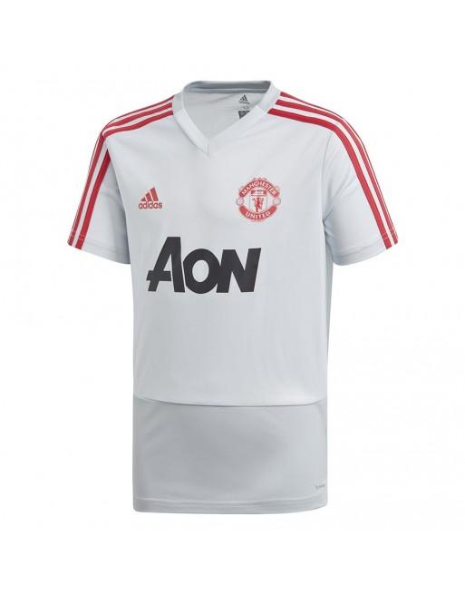 Koszulka adidas MUFC TR JSY Y DP6829 Rozmiar 152 cm Kolor biały