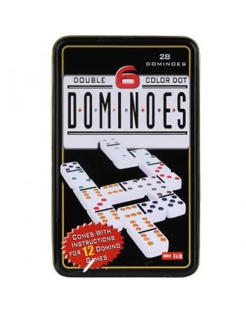 Gra Domino w pudełku -kolor...