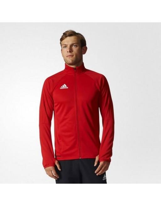 Bluza adidas TIRO 17 TRG JKT BQ2710 Kolor czerwony Rozmiar M